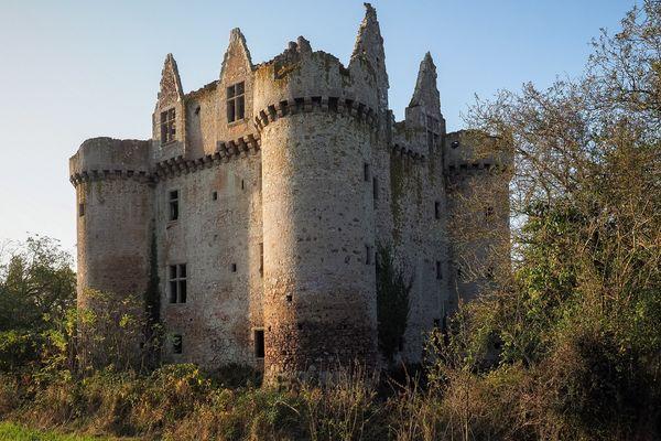 Le château de l'Ebaupinay à Breuil-sous-Argenton dans les Deux-Sèvres va pouvoir être restauré.