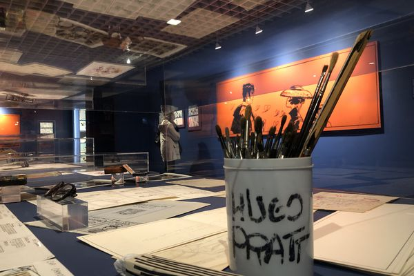 Expo Hugo Pratt au musée d'Aquitaine