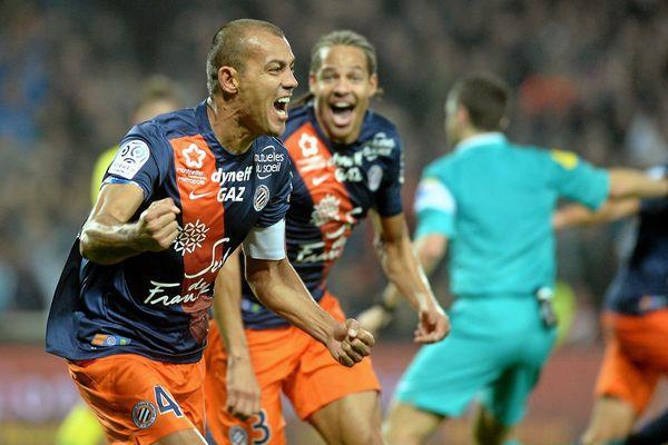 Le défenseur de Montpellier Vitorino Hilton - 7 novembre 2015