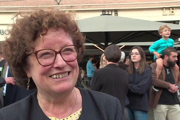 A Amiens, Brigitte Fouré est réélue maire à l'issue du second tour des municipales 2020.