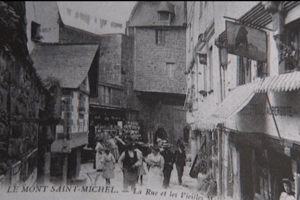 Un livre retrace l'histoire du Mont-Saint-Michel au début du 20e siècle à travers des cartes postales