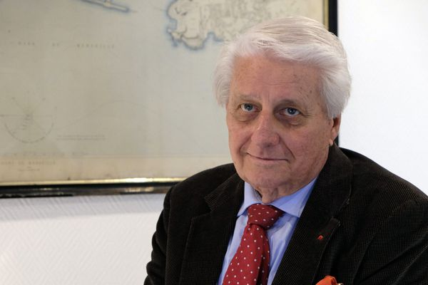 André Malrait est en charge du patrimoine à la ville de Marseille.