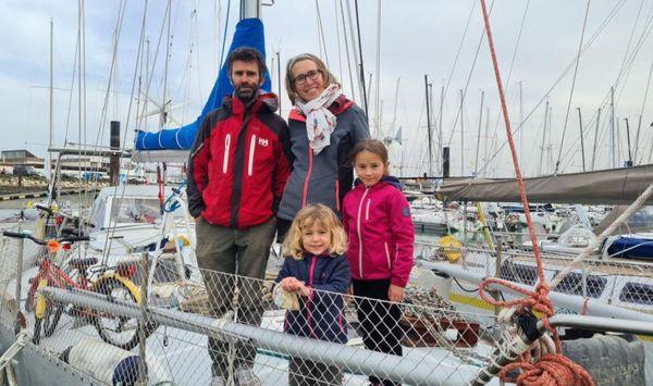 """Kevin, Marie-Julie, Calypso et Zélie, dans l'attente du """"grand départ"""""""