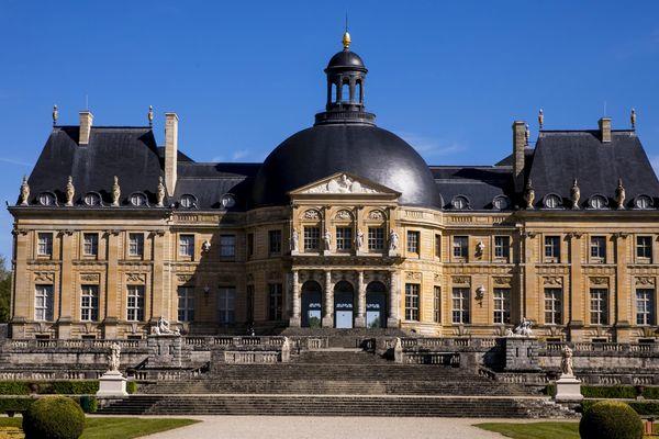 Le château de Vaux-le-Vicomte, en Seine-et-Marne.