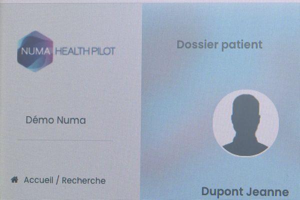 Les données d'un patient sont collectées puis analysées de façon anonyme