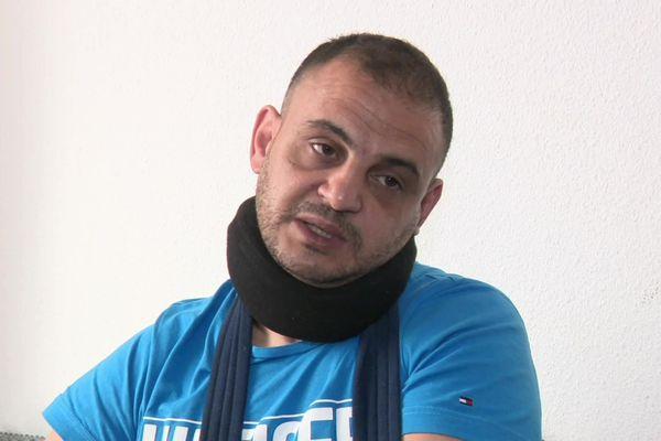 Adil Sefrioui , père de famille de Dole a été agressé devant son domicile.