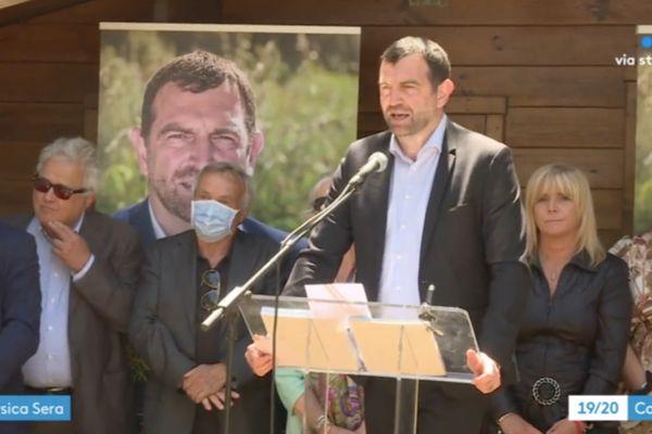 Le candidat Jean-Charles Orsucci a présenté sa liste samedi 22 mai.