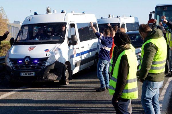 Photo d'illustration prise à Calais, le 17 novembre