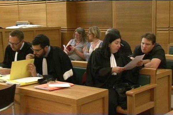 Durant le procès