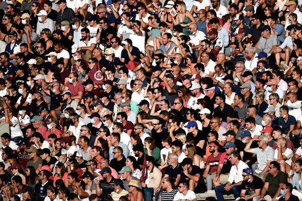 23.500 spectateurs assistaient à la rencontre entre l'UBB et le Stade Français à Chaban-Delmas ce samedi 11 septembre.