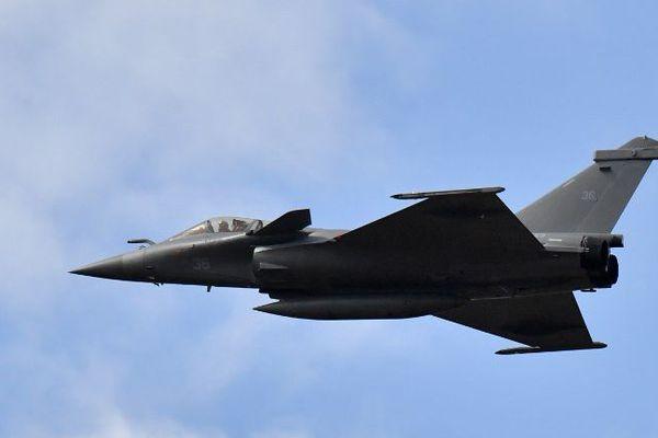 Exemple de Rafale de l'Armée de l'air.