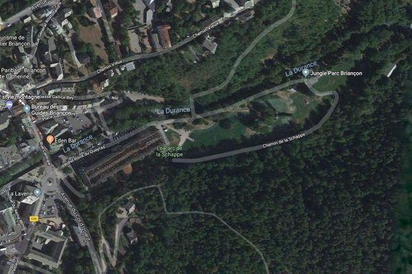 La foudre s'est abattue sur le parc de la Shappe à Briançon et fait trois blessés légers