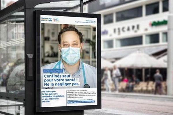 La campagne de sensibilisation s'affiche dans la rue et sur les réseaux sociaux.