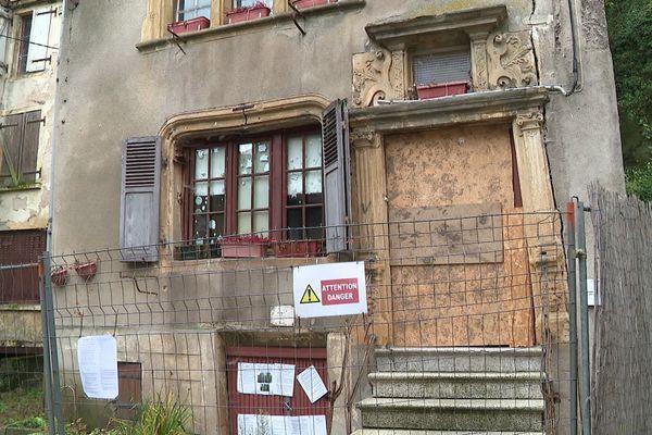 La maison Berweiller fait actuellement l'objet d'un «arrêté de péril», signé au mois de décembre 2019.