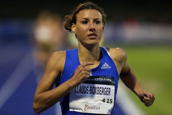 Belfort le 09/06/17 - 8e meeting international d'athlétisme de Belfort-Montbéliard - la course du 1500 m international avec Ophélie Claude-Boxberger