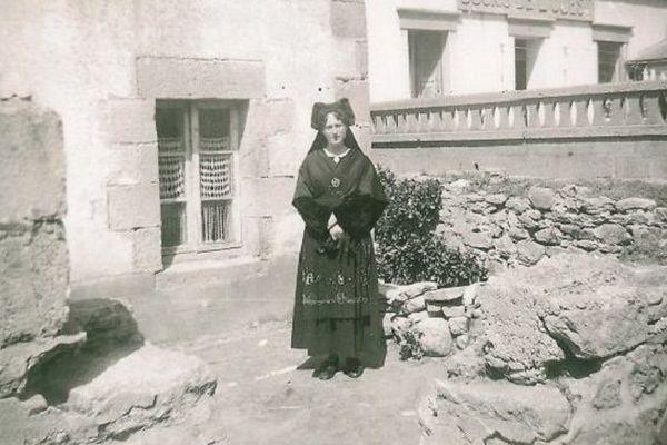 Marie Jeanne Gabrielle, enfant de l'île de Sein