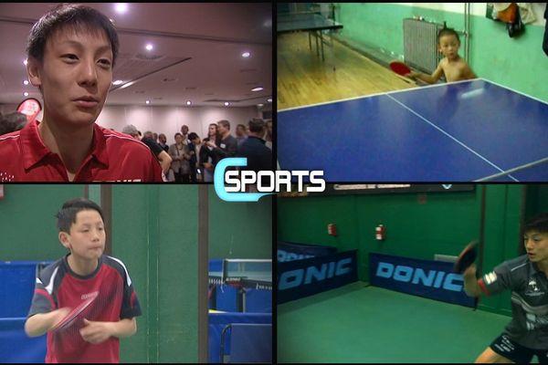 Cette semaine C Sports s'intéresse à la jeune recrue du Caen TTC, Dorian Zheng