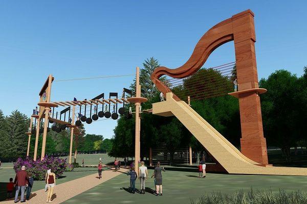 35 attractions seraient prévues au sein du parc Melofolia