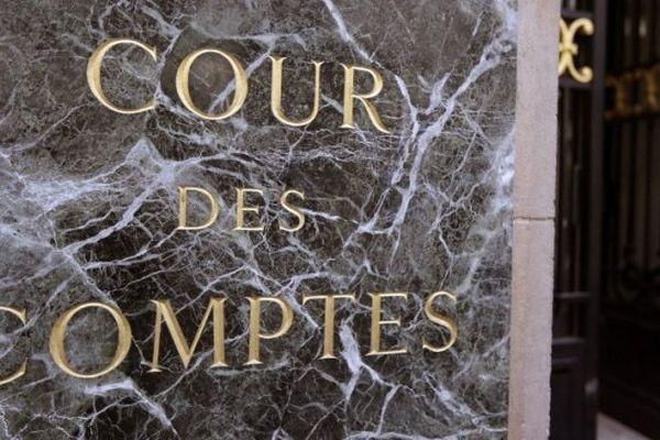 (ILLUSTRATION) - Entrée de la Cour des comptes