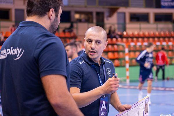 Tarik Hayatoune, entraîneur du LH