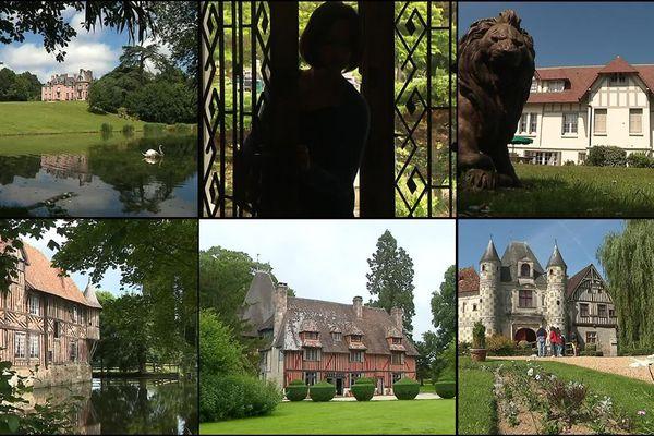 Cette semaine, une de nos équipes vous emmène découvrir de belles demeures en Normandie