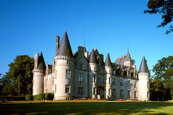 Le château de Trédion