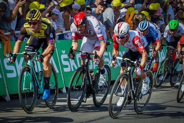 Le passage du Tour de France à Nîmes en juillet 2019