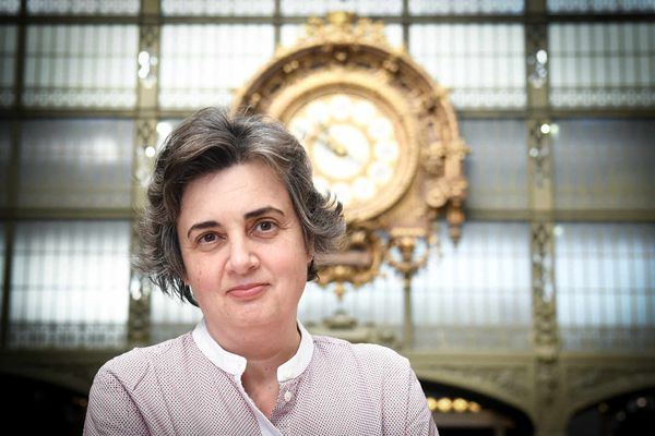 Laurence des Cars photographiée le 24 mars 2021, était la présidente du Musée d'Orsay depuis quatre ans.