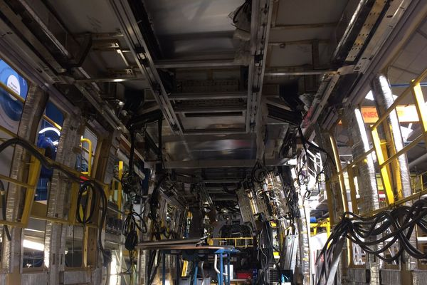 Le câblage des trains