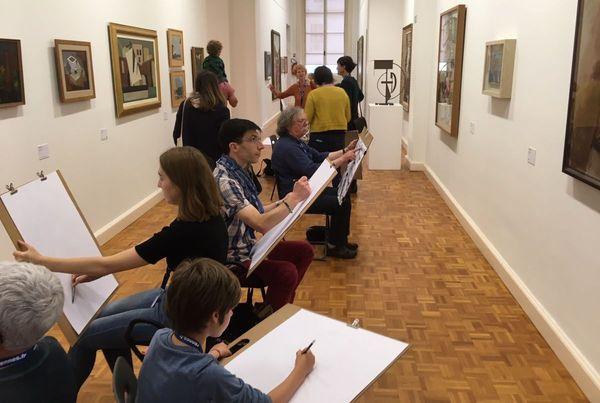"""Les """"copieurs"""" ont investi le musée des Beaux Arts de Rennes"""
