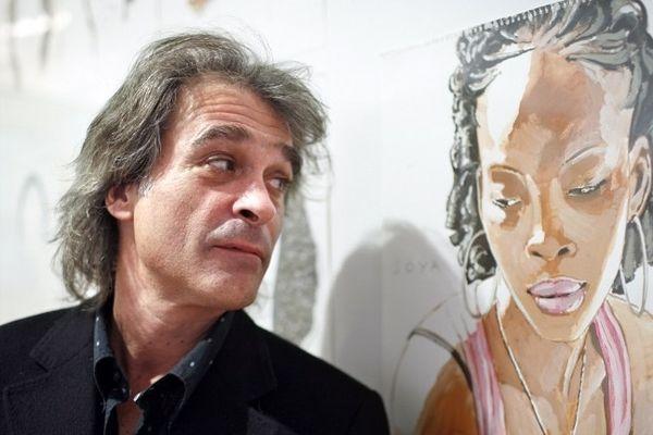 Titouan Lamazou, le 25 Octobre 2007 au Musée de l'Homme à Paris.