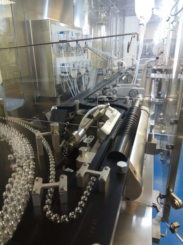 Le site Cenexi d'Herouville-Saint-Clair peut fabriquer jusqu'à 40 millions de doses sur sa ligne de production.