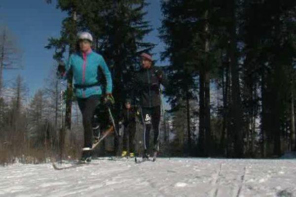 Le ski de fond au col Bayard