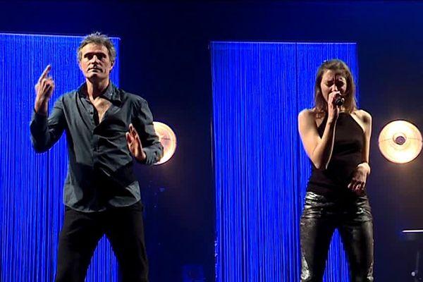 Cyrille Gérard et Liz Cherhal ensemble sur scène pour un spectacle de chant signé