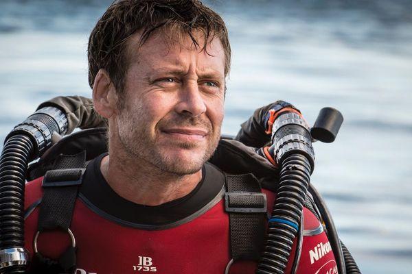 Laurent Ballesta, photographe et plongeur créateur de ce projet Gombessa 5.