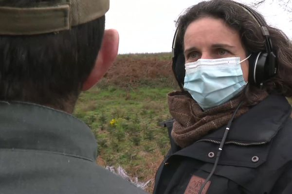 Morgan Large, journaliste à RKB en Centre Bretagne, subit des pressions en lien avec son travail. Dernièrement, des écrous ont été dévissés sur les roues de sa voiture