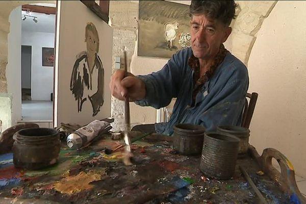 Dans l'atelier de Daniel Juré à Reviers, Calvados