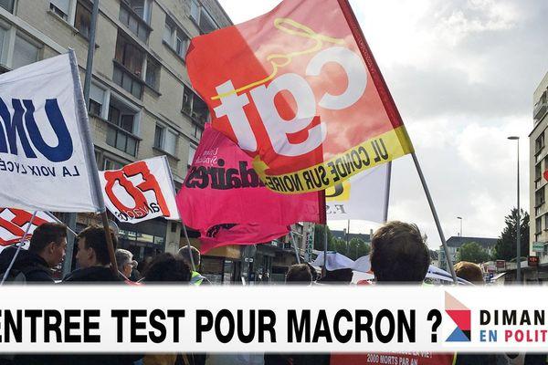 Rentrée test pour Macron ? Débat ce 17 septembre dans Dimanche en Politique à 11h30