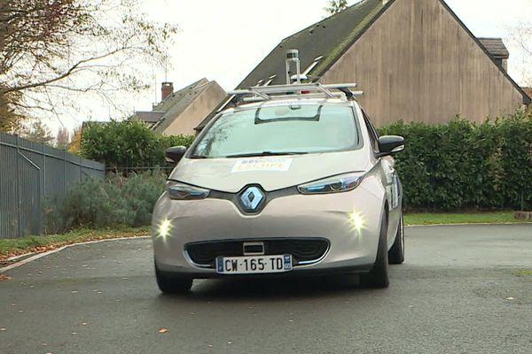 Ce prototype de voiture autonome se déplace grâce à un système de satellites européens.