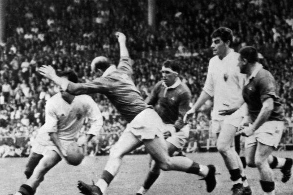 Le match de légende de Lourdes contre Toulon en 1968.