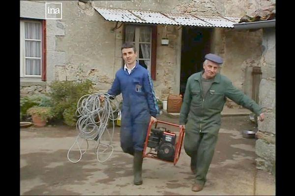 Après la tempête de 1999, de nombreux habitants ruraux de Dordogne se sont équipés de groupes électrogènes