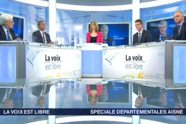 La Voix est Libre spéciale départementales dans l'Aisne