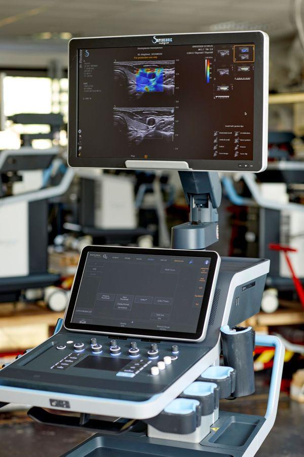 Les appareils d'imagerie médicale développés par Fink et Tanter - DR