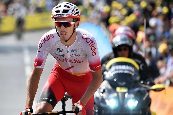 Christophe Laporte, lors de la 3e étape du Tour de France, lundi.