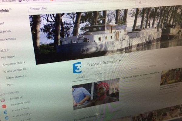 Chaîne  Youtube France 3 Occitanie