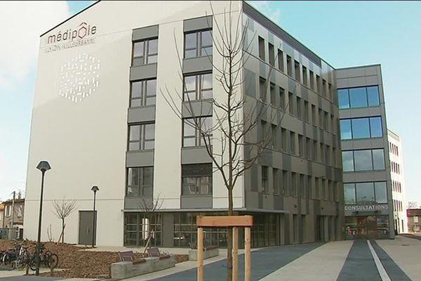 Le Médipôle Lyon-Villeurbanne, regroupe sur un même site, 7 établissements de santé.