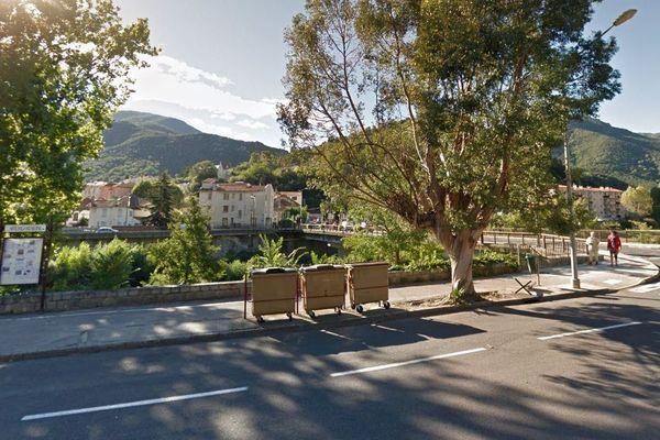 Amélie-les-Bains (Pyrénées-Orientales) - Boulevard de la Petite Provence - archives.