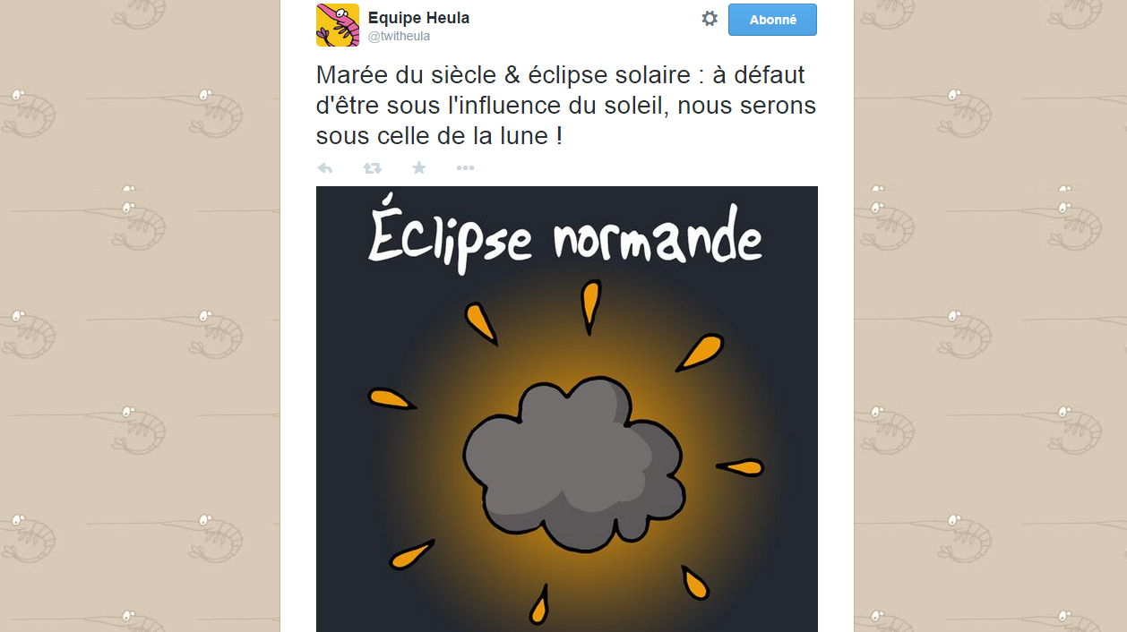 Eclipse 2015 la d ception et l 39 humour france 3 basse normandie - Journal en normandie ...