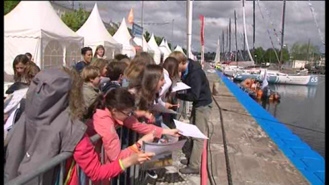 Normandy Channel Race: ouverture du village avant l'appel du large