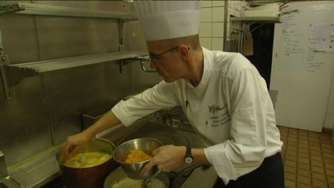 chef du Dauphin repas solidaire